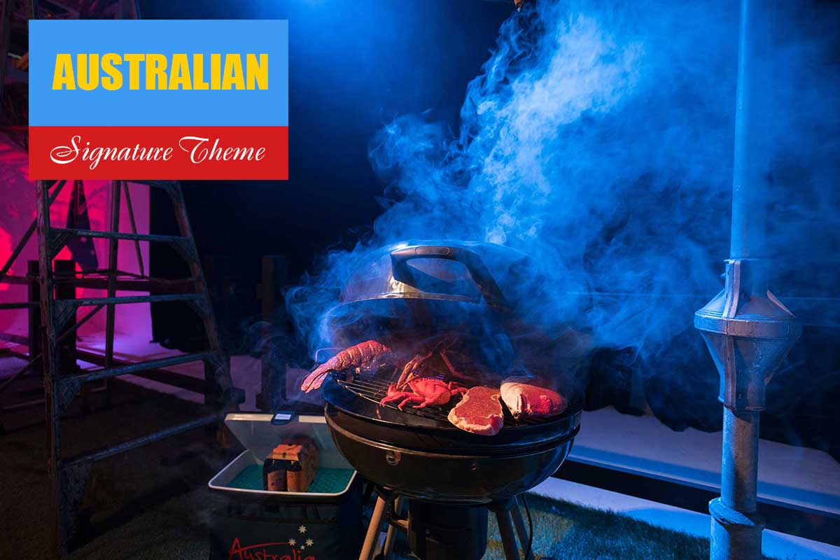 Australian Theme - Exhibition and Trade Show Themes at Sydney Prop Specialists
