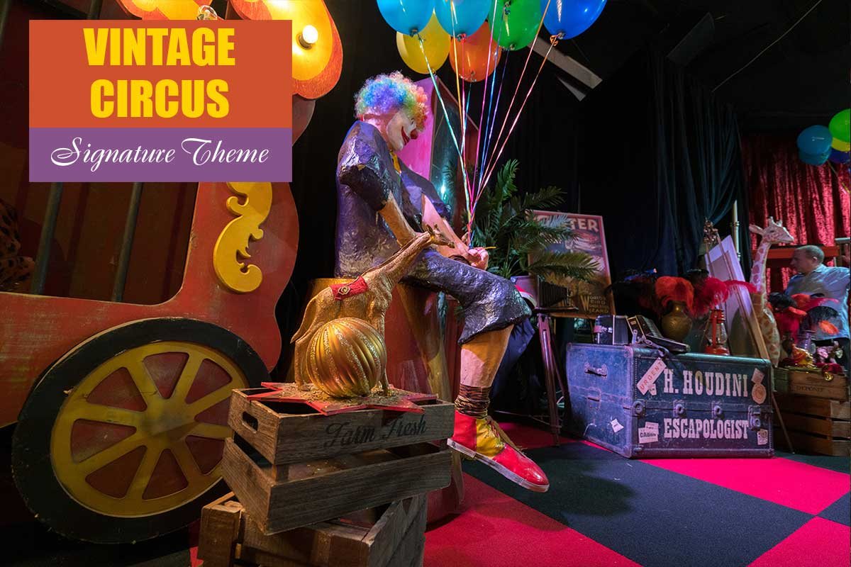 Vintage Circus Theme - Exhibition and Trade Show Themes at Sydney Prop Specialists