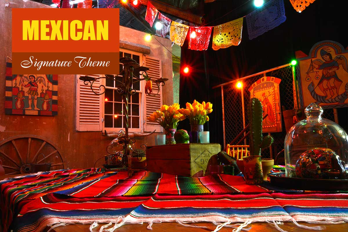 Mexican Theme - Exhibition and Trade Show Themes at Sydney Prop Specialists