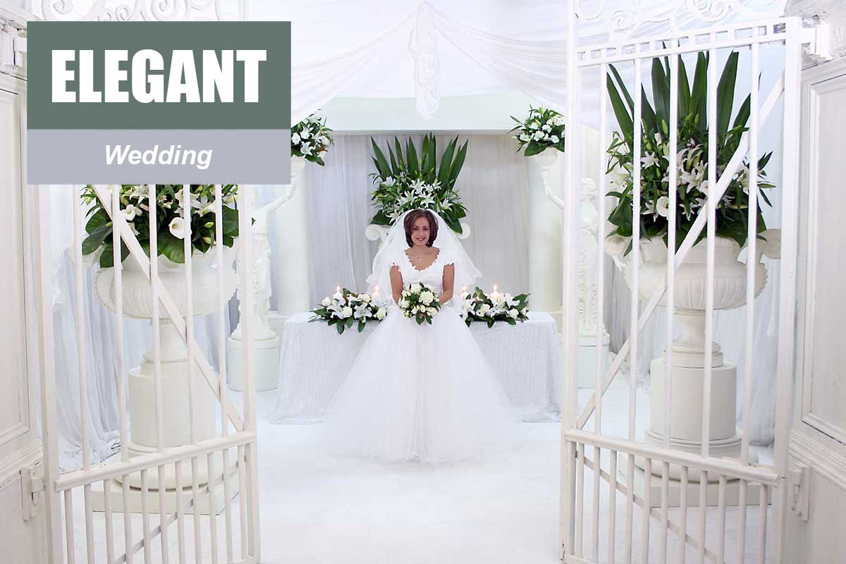 Elegant Wedding Theme - Exhibition and Trade Show Themes at Sydney Prop Specialists