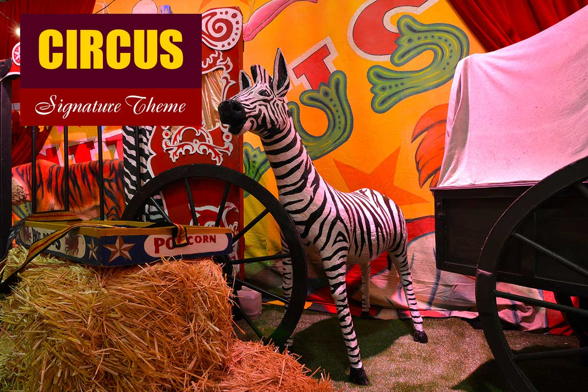 Circus Theme - Conference Themes at Sydney Prop Specialists