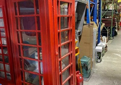 Man Cave Props and Theming - Old Phone Booths