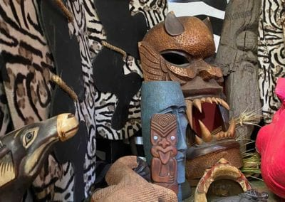 Man Cave Props and Theming - Tribal Artifacts and African Props