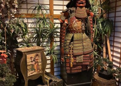 Man Cave Props and Theming - Samurai Armour and Japanese Props