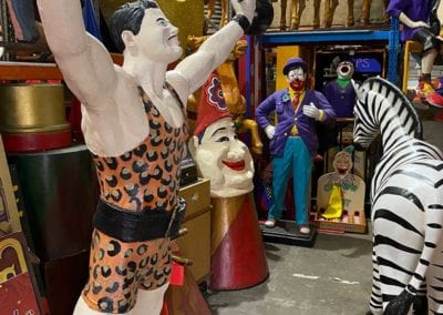 Man Cave Props and Theming - Life-size Circus Performers